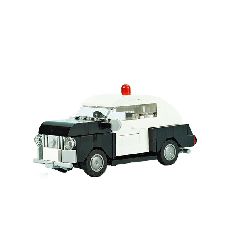 MOC-10032 Old Police Car
