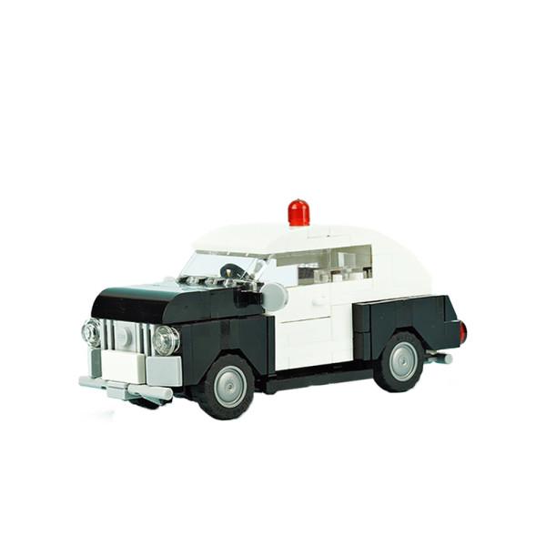 MOC-10032 Old Police Car