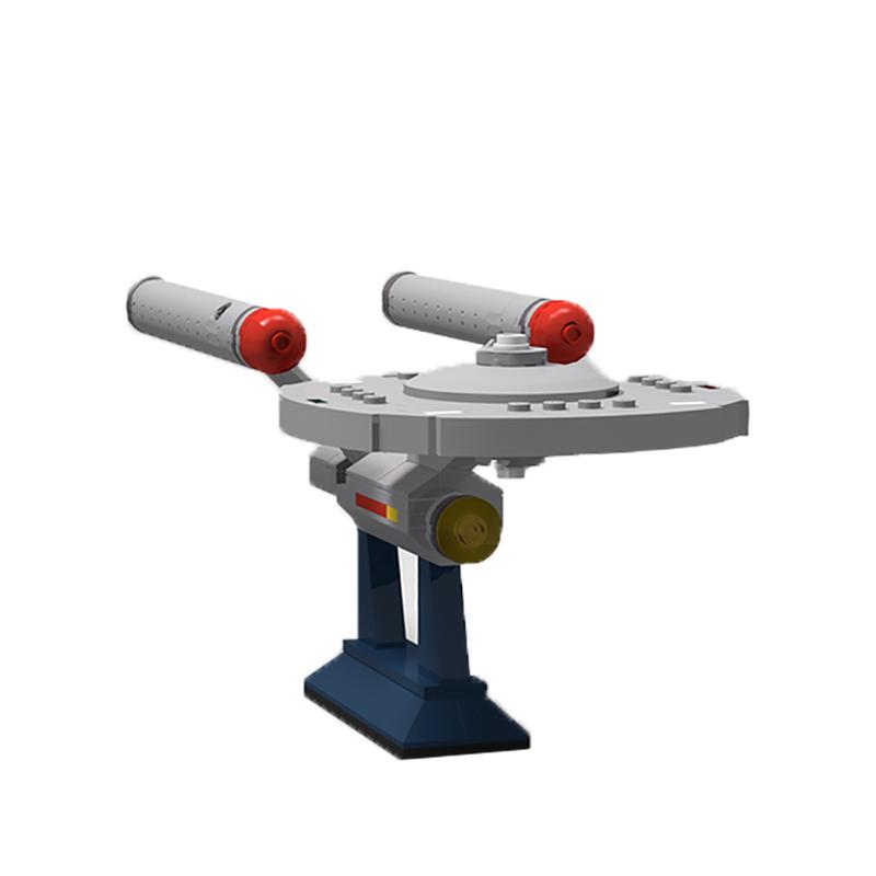 MOC-6021 Constitution Class U.S.S. Enterprise NCC-1701 from Star Trek