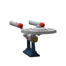 MOC-6021 Constitution Class U.S.S. Enterprise NCC-1701 from Star Trek