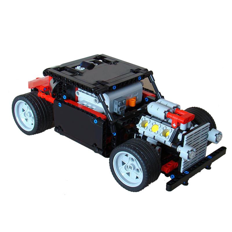 MOC-0641 8041: RC Hot Rod