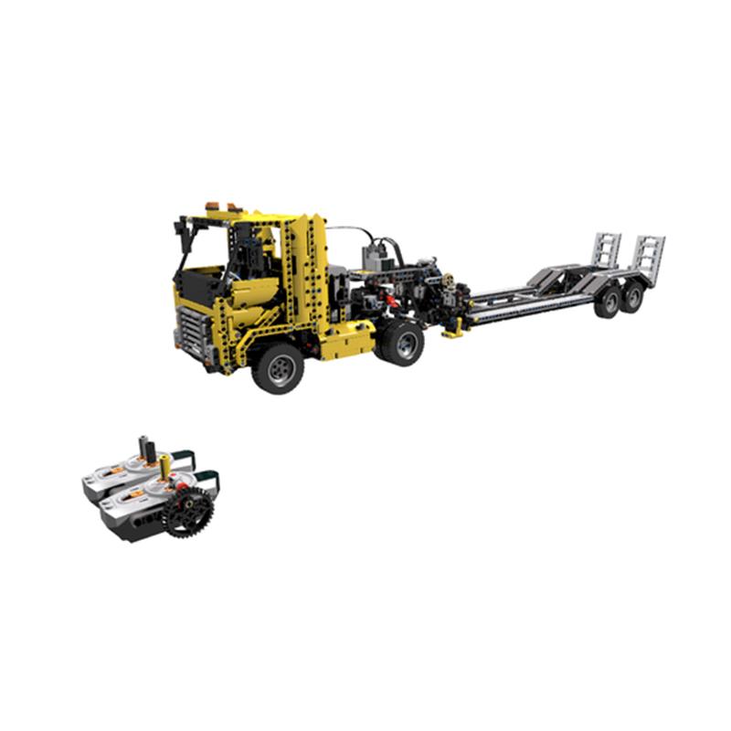 MOC-13616 42009 C-Model Tieflader (Low Loader) RC