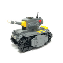 MOC-24662-Technic Iron Empire Tank