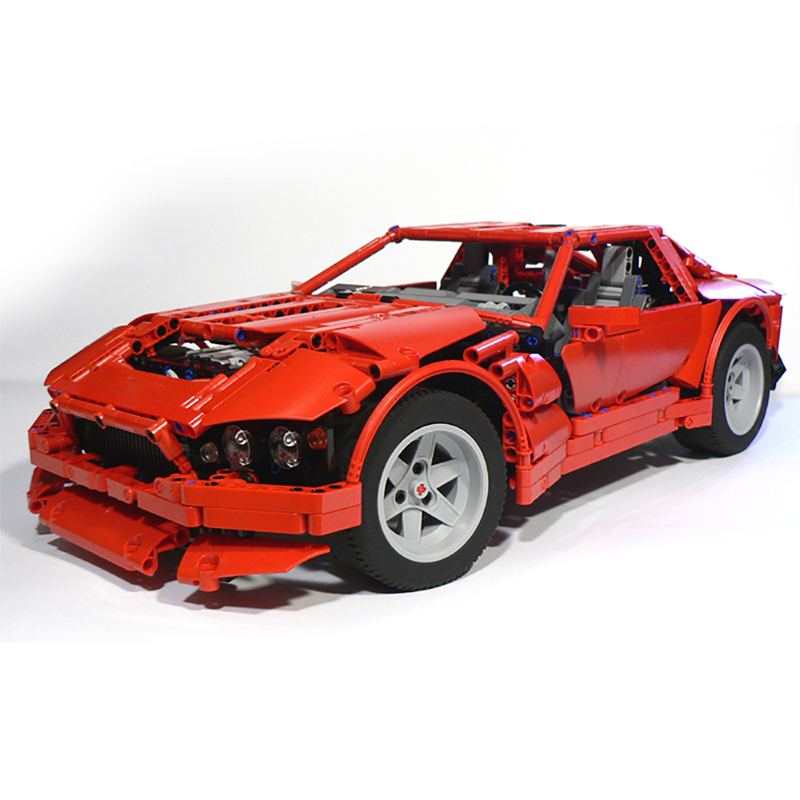 MOC-0587 Red Coupé V12