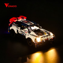 App-Controlled Top Gear Rally Car # Light Kit for 42109