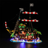 Pirates of Barracuda Bay # Light Kit for 21322