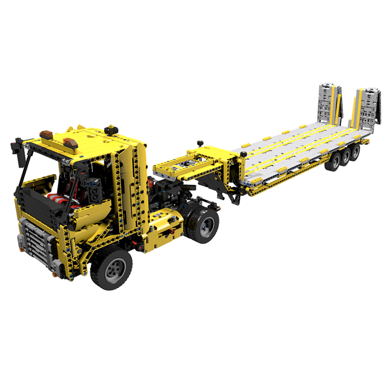 MOC-4246 Tieflader V2 (Low loader V2)