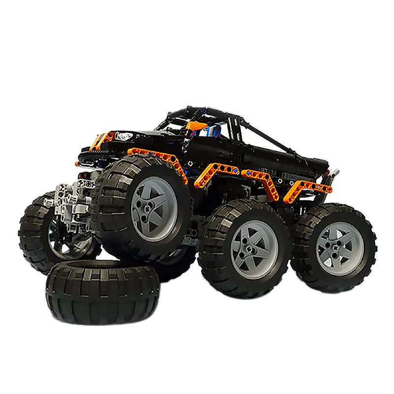 MOC-1244 Monster Truck 6x6