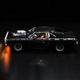 Dom's Dodge Charger # Light Kit for 42111