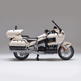 MOC-29381 Honda Gold Wing GL1800 (2018) White