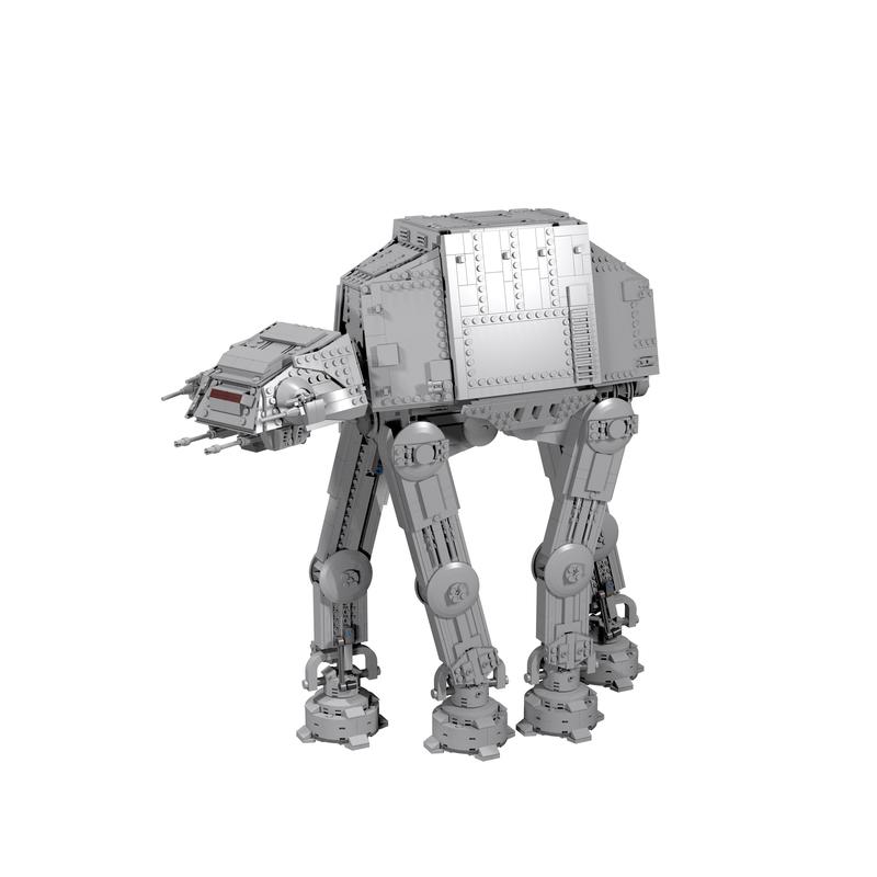 Star Wars MOC Plus-Size AT AT #MOC-6006