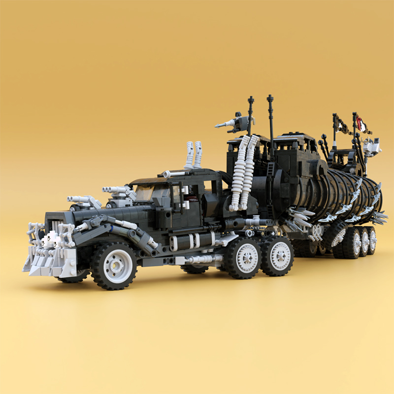 Technic MOC Mad Max:The War Rig MOC-18143