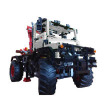 Technic MOC 42054 model-C Off-road truck MOC-16706