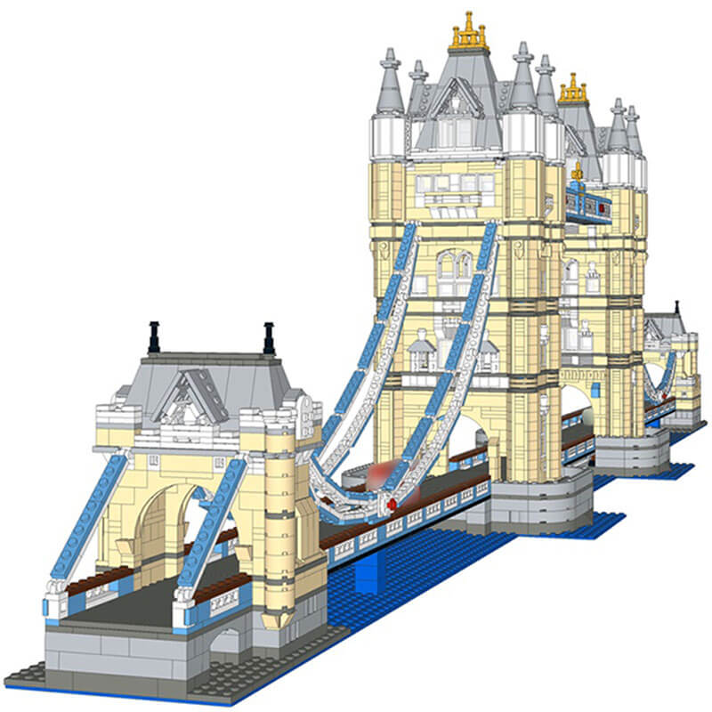 Building  MOC London Tower Bridge Extension MOC-12269