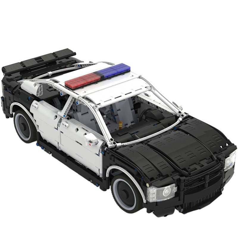 Technic MOC Dodge Charger US Police Car MOC-27336