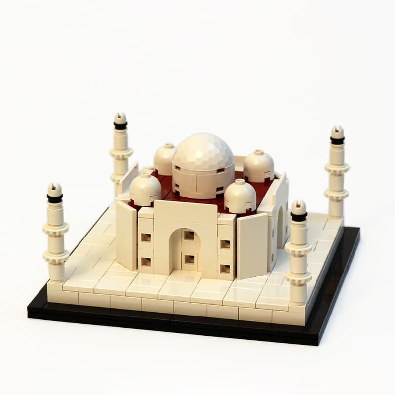 STREET SIGHT MOC 0179 Micro Taj Mahal by JKBrickworks MOCBRICKLAND