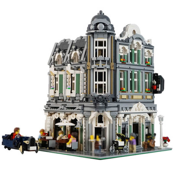 Building MOC 10255 Assembly Square Alternative build MOC-32576