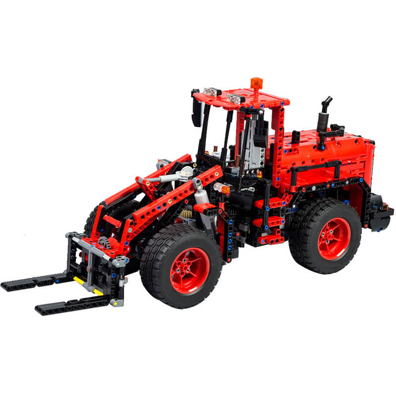 Technic MOC 42082 Model C Wheel Loader MOC-18978