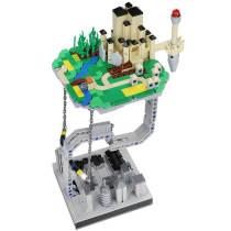 Technic MOC Floating Magic Castle
