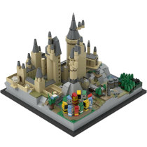 Building MOC Hօgwarts Castle Architecture MOC-25280