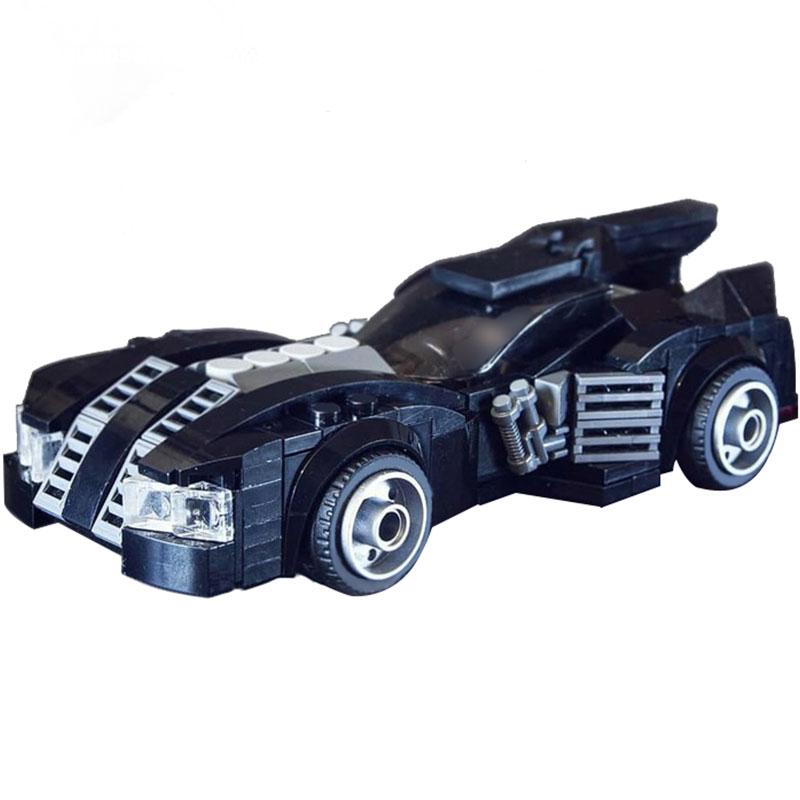 Technic MOC Arkham Asylum Batmobile MOC-12738