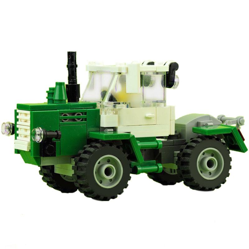 Technic MOC Green tractor MOC-15743