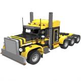 Technic MOC Peterbilt 379 Semi Truck 1:18 in yellow and black MOC-2980