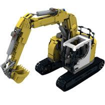 Technic MOC Custom RC LIEBHERR 926 compact excuvator MOC-10394