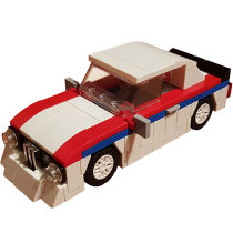 Technic MOC Race car MOC-10705