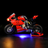 Ducati Panigale V4 R Light for LEGO 42107