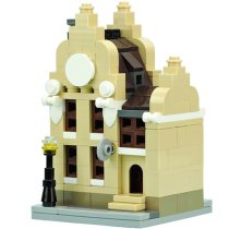 MOC-10779 Mini Clock Workshop Building