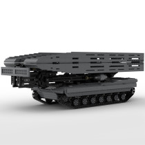 Ultimate M1A2 Abrams tank with scissor type bridge and launcher MOC-29526
