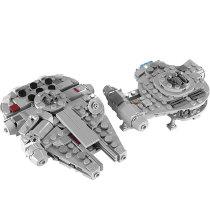 MOC-18554 Millenniumm Falcon & Outrider