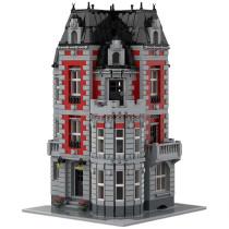 MOC-35065 Corner Mansion Modular