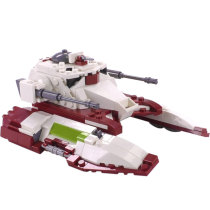 MOC-18145 Republic Fighter Tank TX-130T-Minifig Scale