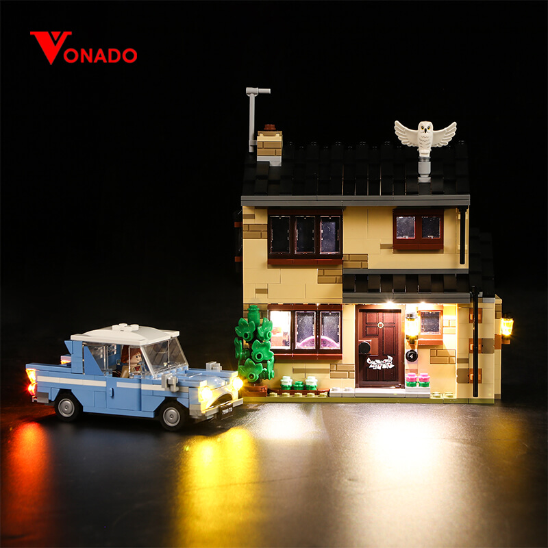 4 Privet Drive #Lego Light Kit for 75968