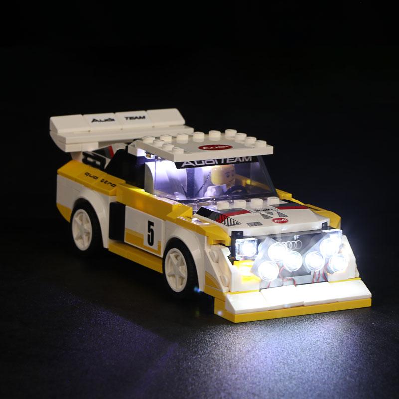 1985 Audi Sport quattro S1 #Lego Light Kit for 76897