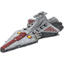 MOC-43186 Venator-class Republic attack cruiser MOC with interior