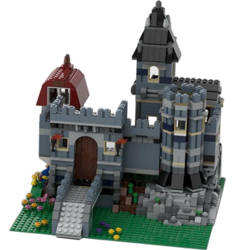 MOC-37994 Blue Castle Alternate Build of 10218 Petshop