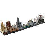 MOC-18016 Game Of Thrones-Westeros Skyline Architecture