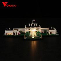 The White House #Lego Light Kit for 21054