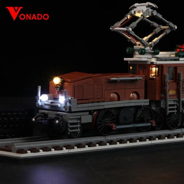 Crocodile Locomotive #Lego Light Kit for 10277
