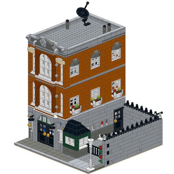 MOC-0201 Consulate-Town Hall Alternative-Modular Building