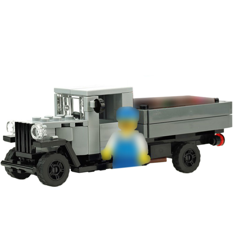 MOC-10371 Old truck  AA