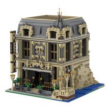 The Lounge (10253 Big Ben Alternate Model Modular) MOC-14123