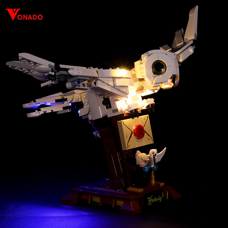 Hedwig #Lego Light Kit for 75979