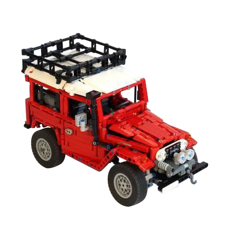 MOC-2770 Toyota Land Cruiser FJ40 HARD TOP Expedition