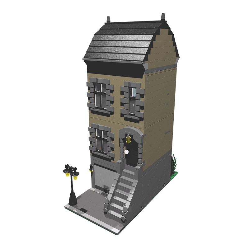 MOC-3707 Tan House