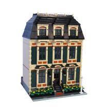 MOC-10702 Tan Townhouse