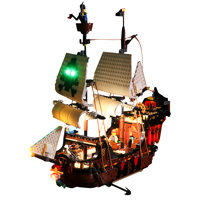 Pirate Ship #Lego Light Kit for 31109